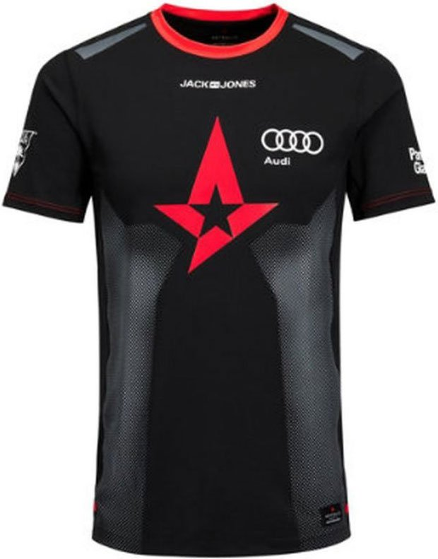 Image of   Astralis Logo T-shirt - Str. S