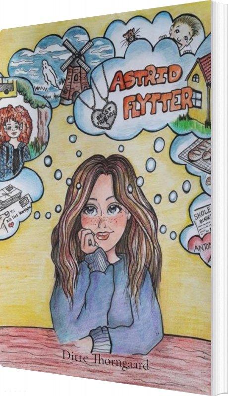 Image of   Astrid Flytter - Ditte Thorngaard - Bog