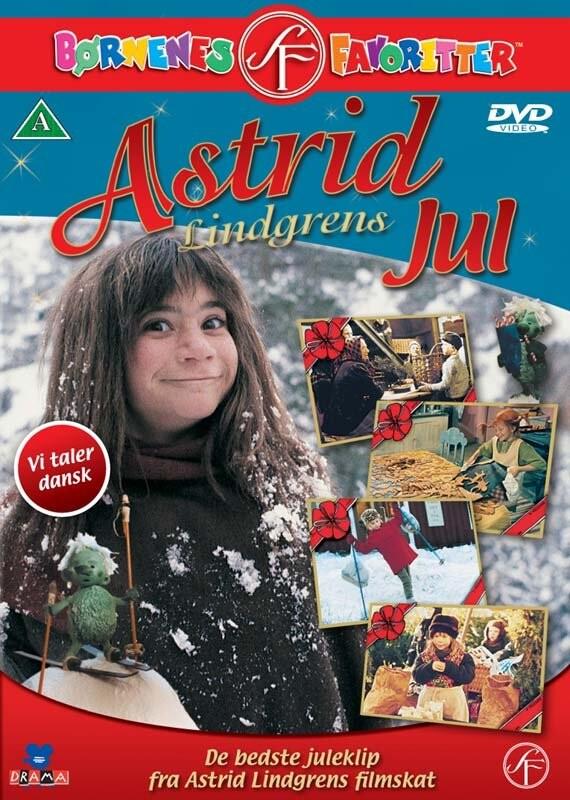 Image of   Astrid Lindgrens Jul - DVD - Film