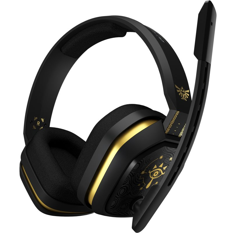 Image of   Astro A10 - Over-ear Hovedtelefoner Med Mikrofon - Legend Of Zelda Edition