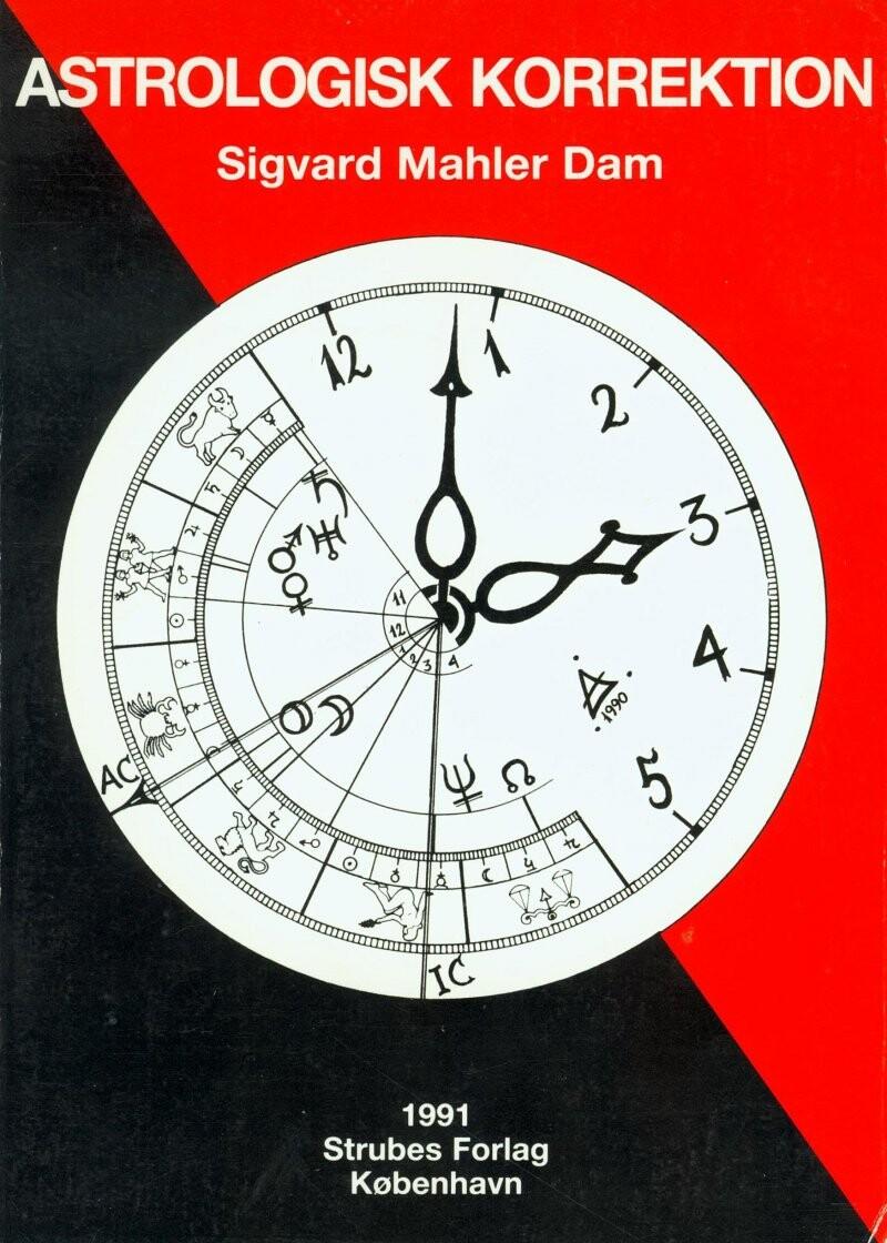 Billede af Astrologisk Korrektion - Sigvard Mahler Dam - Bog