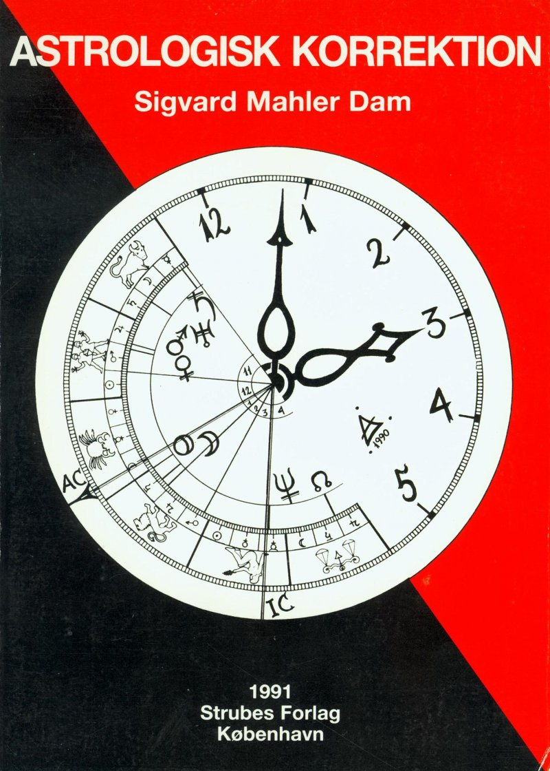 Image of   Astrologisk Korrektion - Sigvard Mahler Dam - Bog