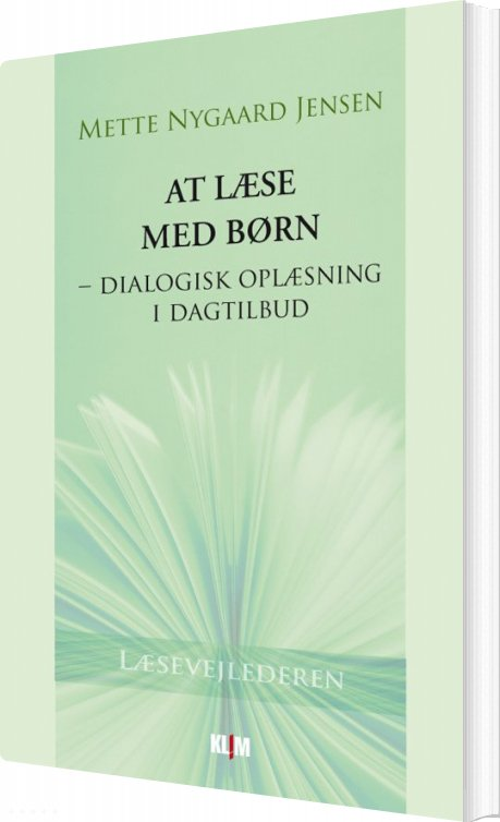 Image of   At Læse Med Børn - Mette Nygaard Jensen - Bog