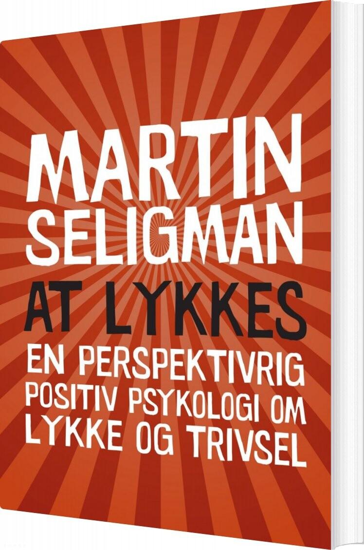 Image of   At Lykkes - Martin E.p. Seligman - Bog