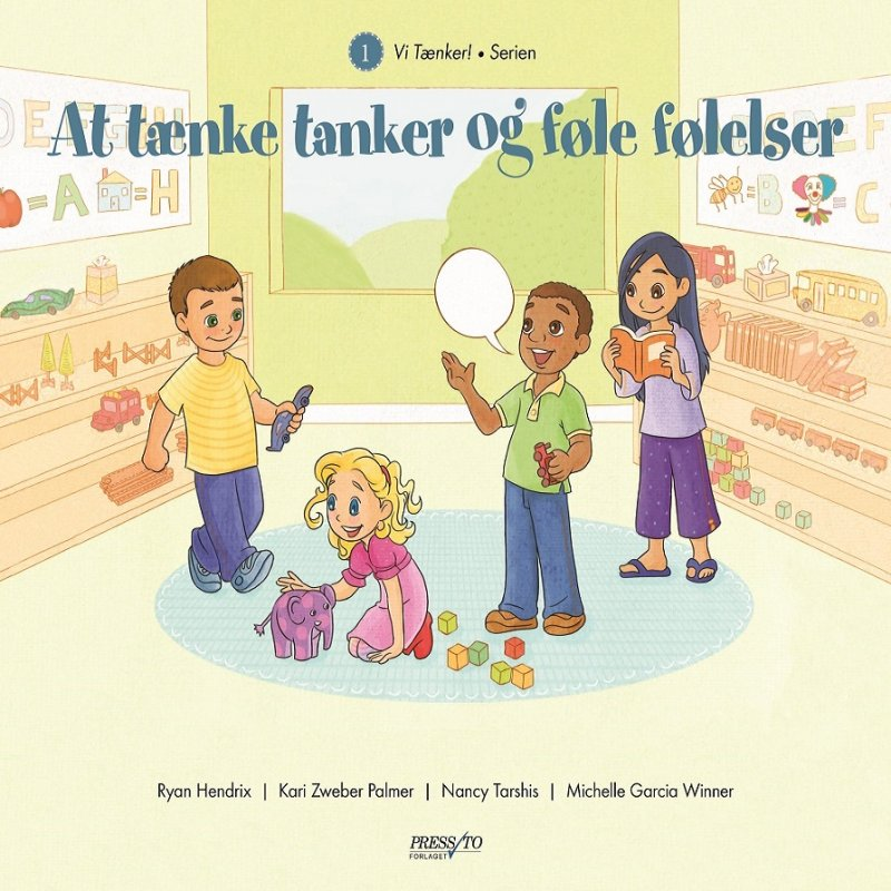 Image of   At Tænke Tanker Og Føle Følelser - Michelle Garcia Winner - Bog