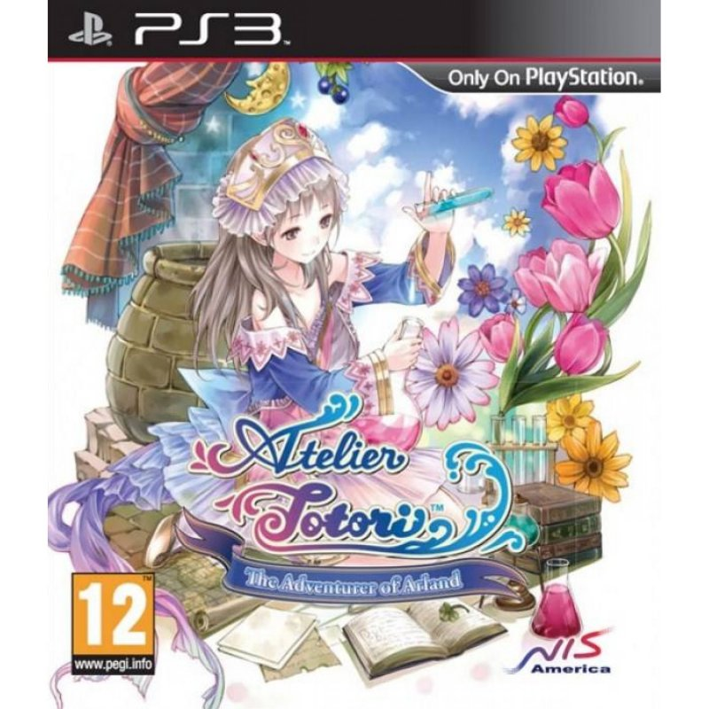 Atelier Totori: The Adventurer Of Arland (import) - PS3