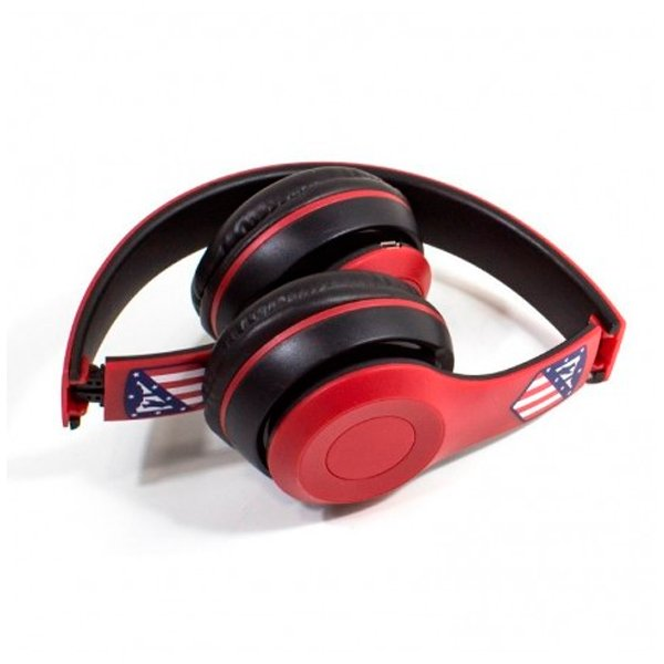 Image of   Atlético Madrid - Trådløs Bluetooth Hovedtelefoner - 6 Timer - Rød Sort