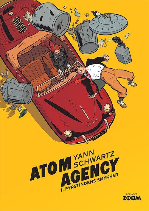 Image of   Atom Agency 1: Fyrstindens Smykker - Schwartz - Tegneserie
