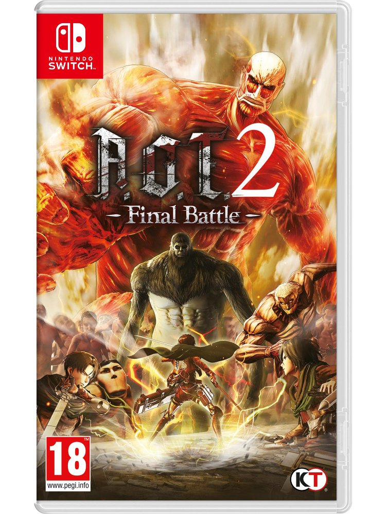 Image of   Attack On Titan 2 - Final Battle / A.o.t. 2 - Nintendo Switch