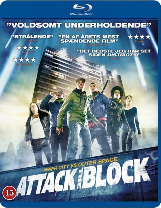Image of   Attack The Block - Blu-Ray