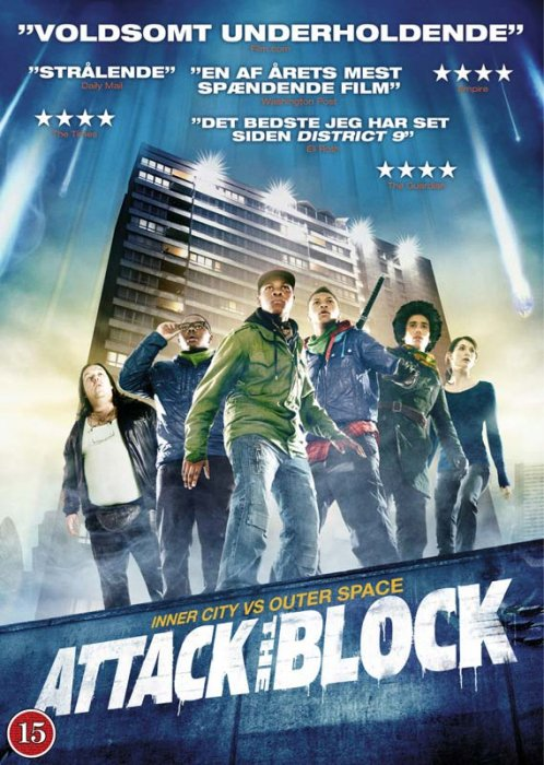 Image of   Attack The Block - DVD - Film