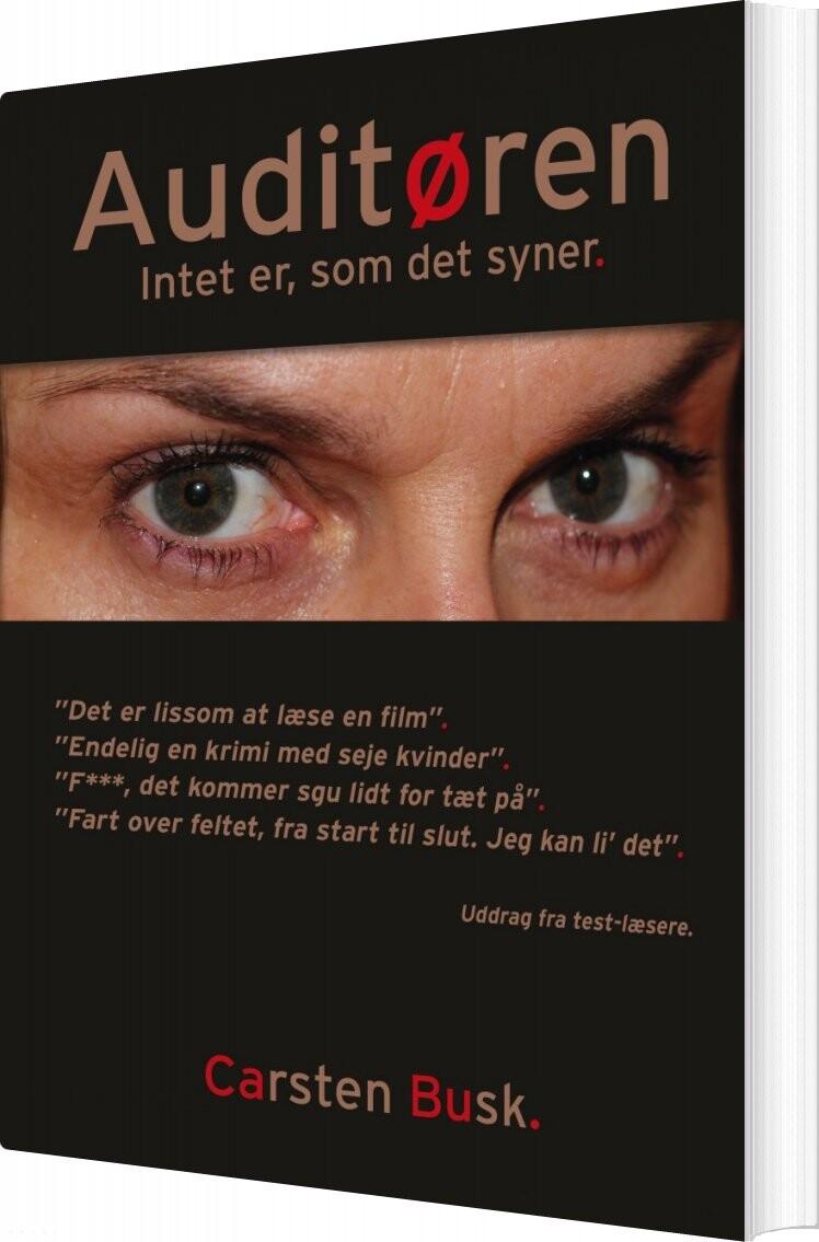 Image of   Auditøren - Carsten Busk - Bog