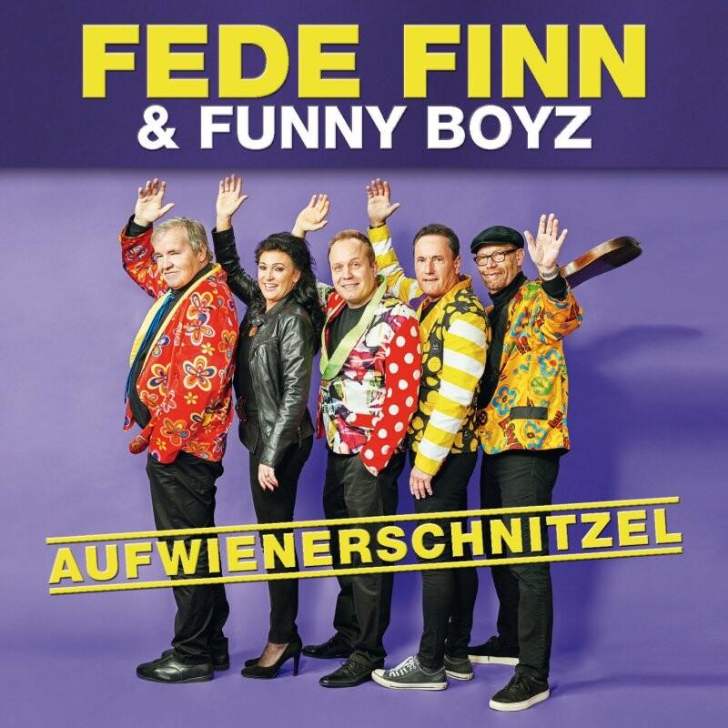 Image of   Fede Finn Og Funny Boyz - Aufwienerschnitzel - CD