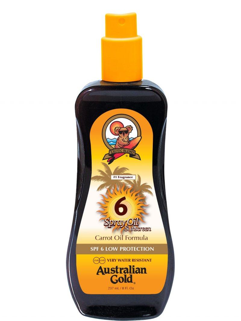 Image of   Australian Gold - Carrot Spray Oil 237 Ml - Spf 6