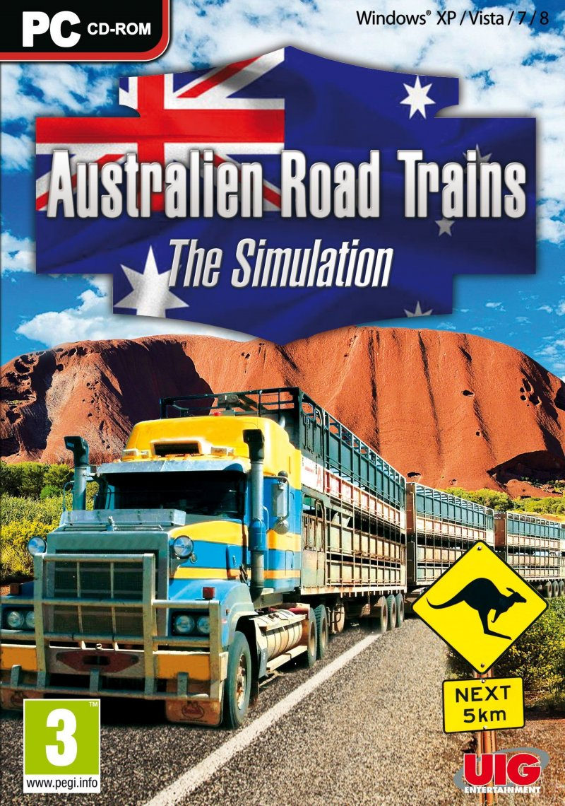 Image of   Australian Road Trains - PC