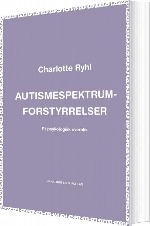 Billede af Autismespektrum-forstyrrelser - Charlotte Ryhl - Bog