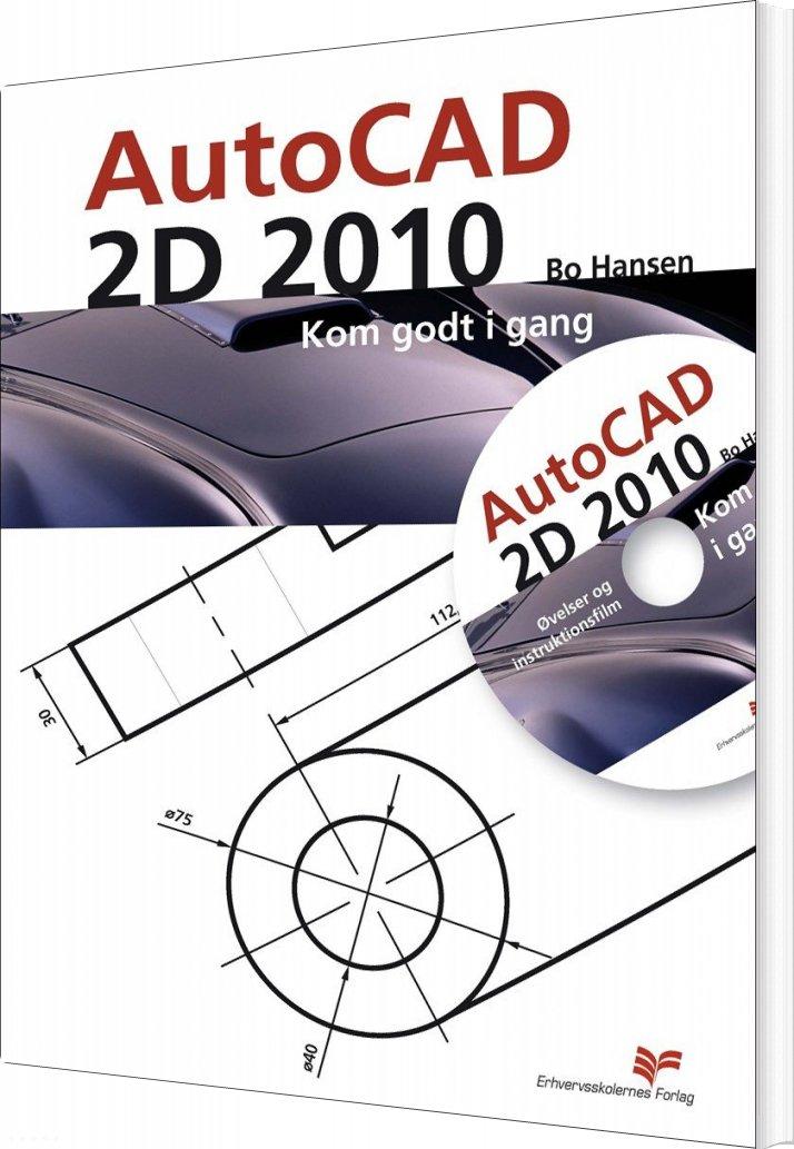 Billede af Autocad 2d 2010 - Bo Hansen - Bog