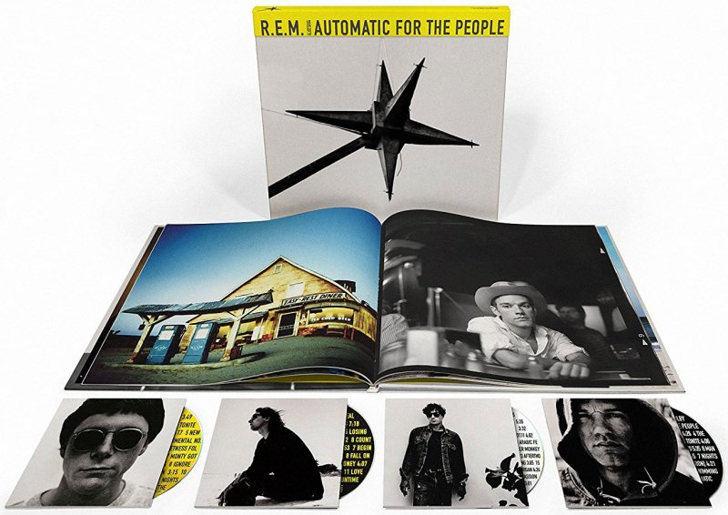 R.e.m - Automatic For The People (cd+blu-ray) - CD