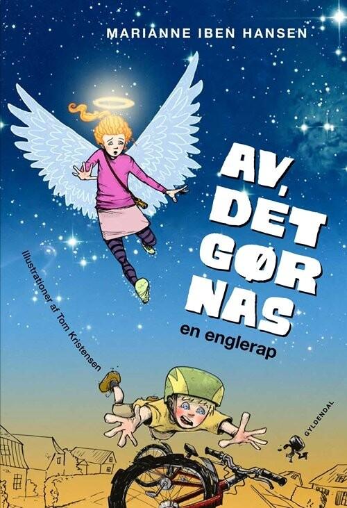 Image of   Av, Det Gør Nas. En Englerap - Marianne Iben Hansen - Bog