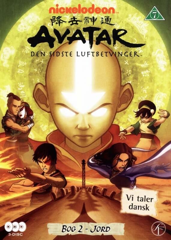Image of   Avatar The Last Airbender / Den Sidste Luftbetvinger - Bog 2 Jord - DVD - Film