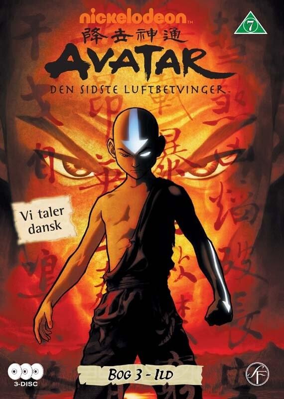 Image of   Avatar The Last Airbender / Den Sidste Luftbetvinger - Bog 3 Ild - DVD - Tv-serie