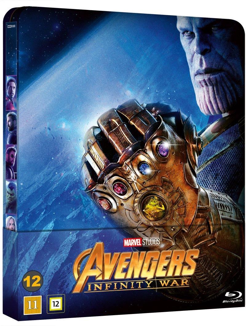 Image of   Avengers 3 - Infinity War - Steelbook - Blu-Ray
