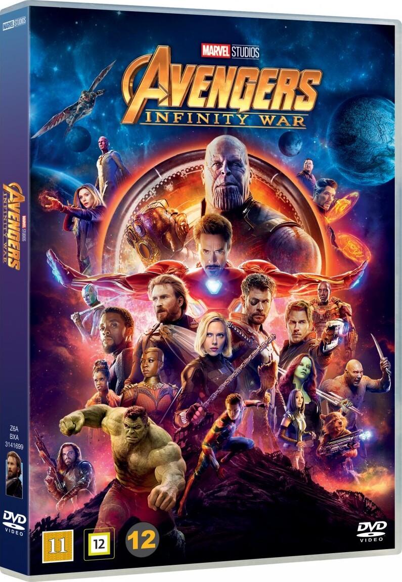 Image of   Avengers 3 - Infinity War - DVD - Film