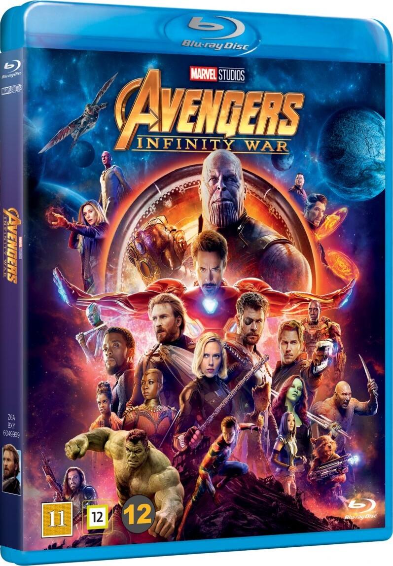 Image of   Avengers 3 - Infinity War - Blu-Ray