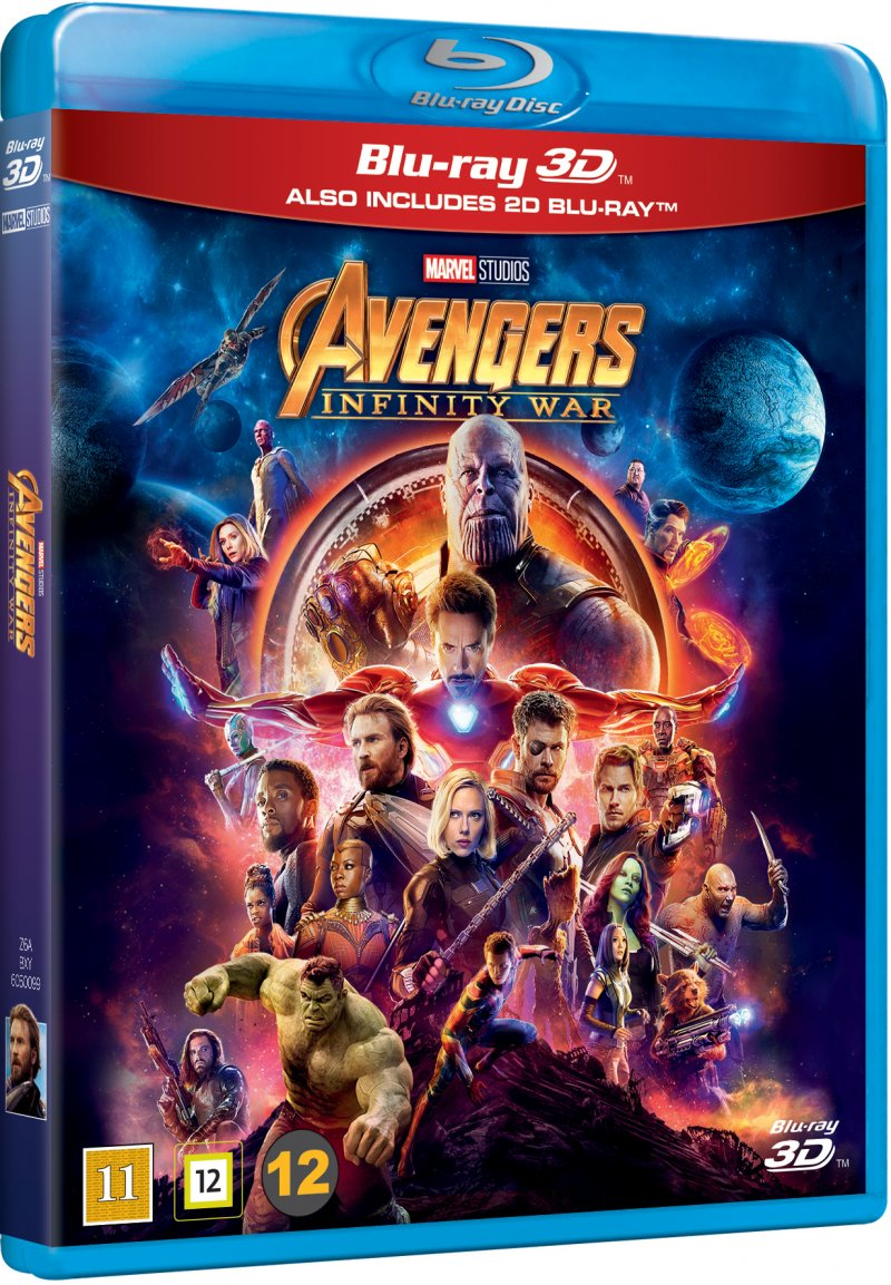 Image of   Avengers 3 - Infinity War - 3D Blu-Ray