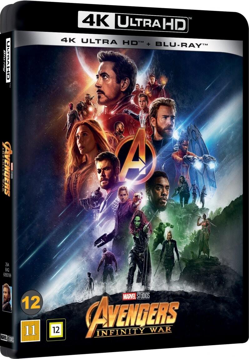 Image of   Avengers 3 - Infinity War - 4K Blu-Ray
