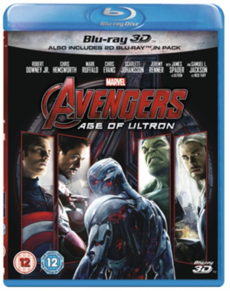 Image of   The Avengers 2: Age Of Ultron (3d+2d Blu-ray) -