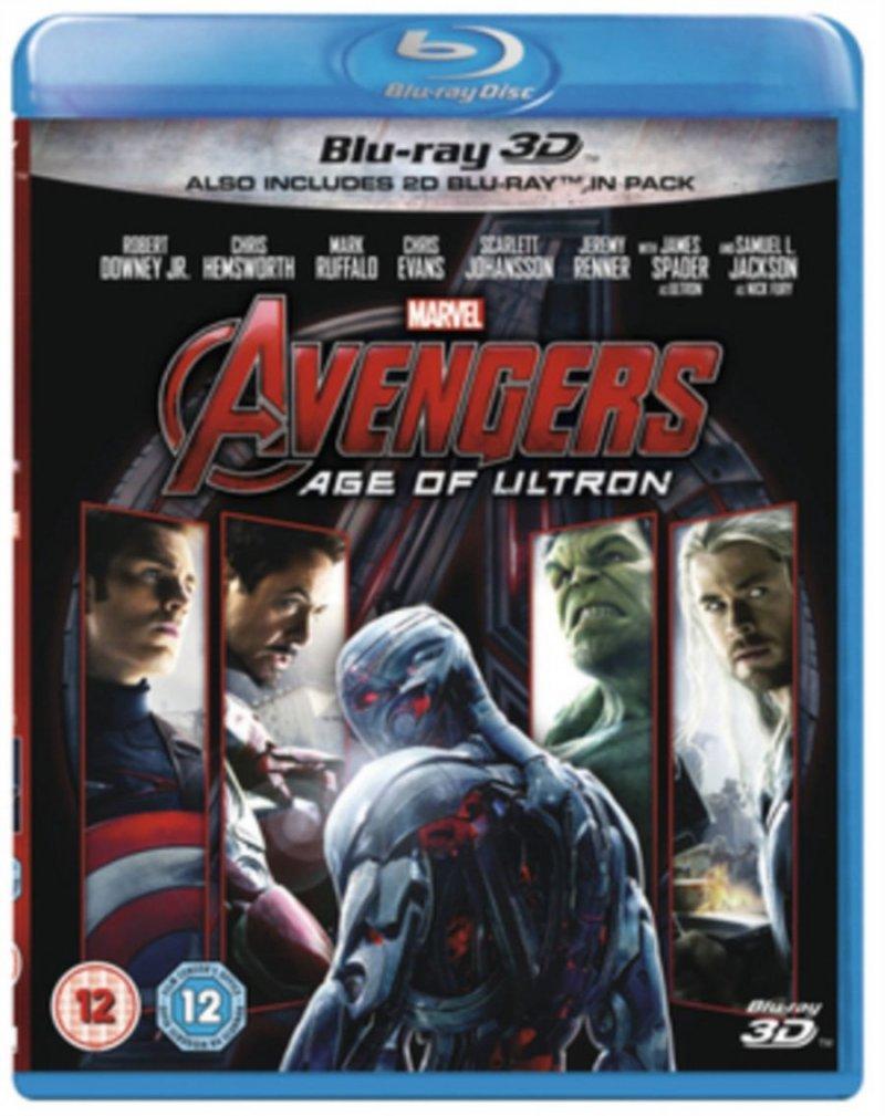 Billede af The Avengers 2: Age Of Ultron (3d+2d Blu-ray) -