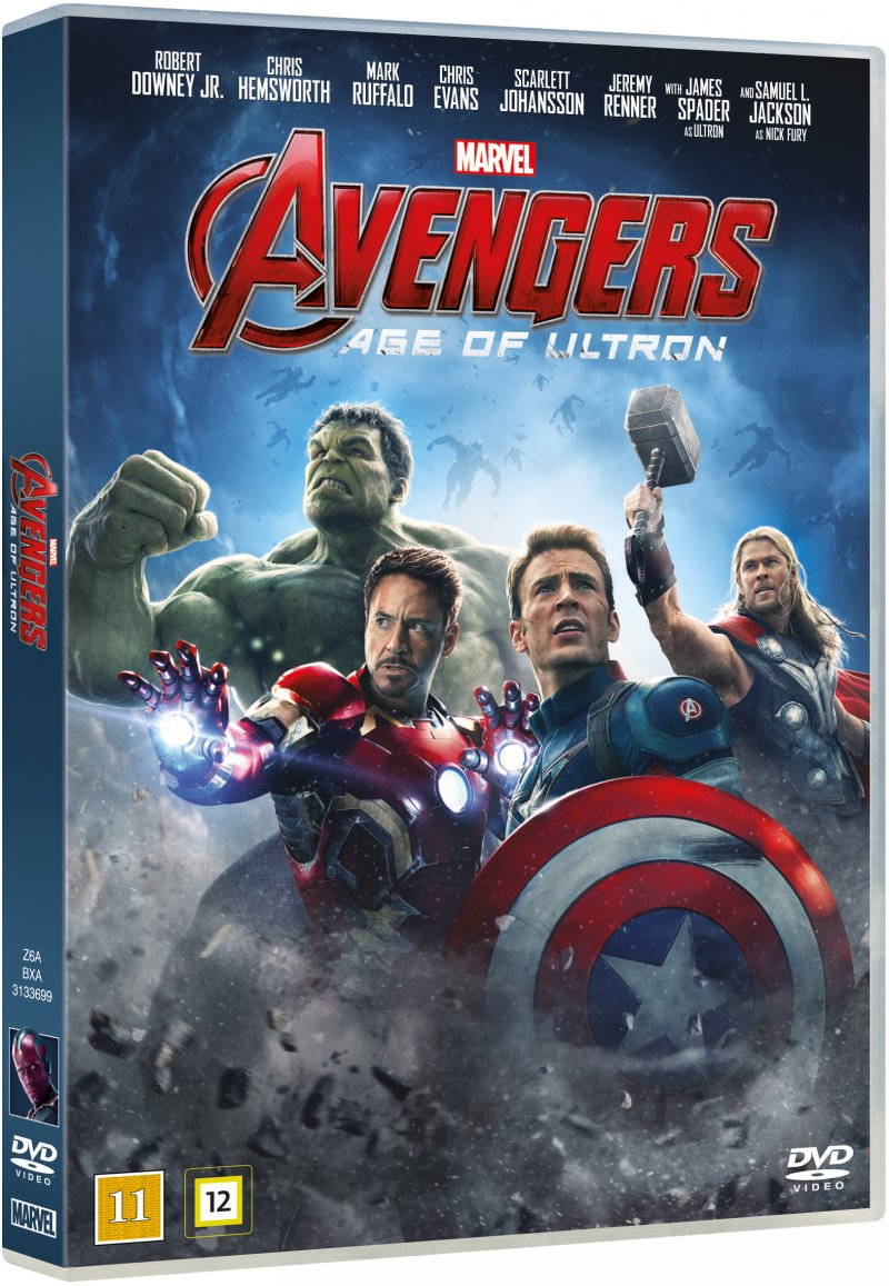 The Avengers 2: Age Of Ultron - DVD - Film