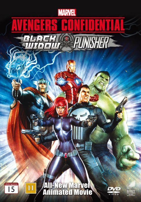 Image of   Avengers Confidential: Black Widow And Punisher - DVD - Film