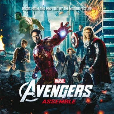 Image of   Avengers Soundtrack - CD