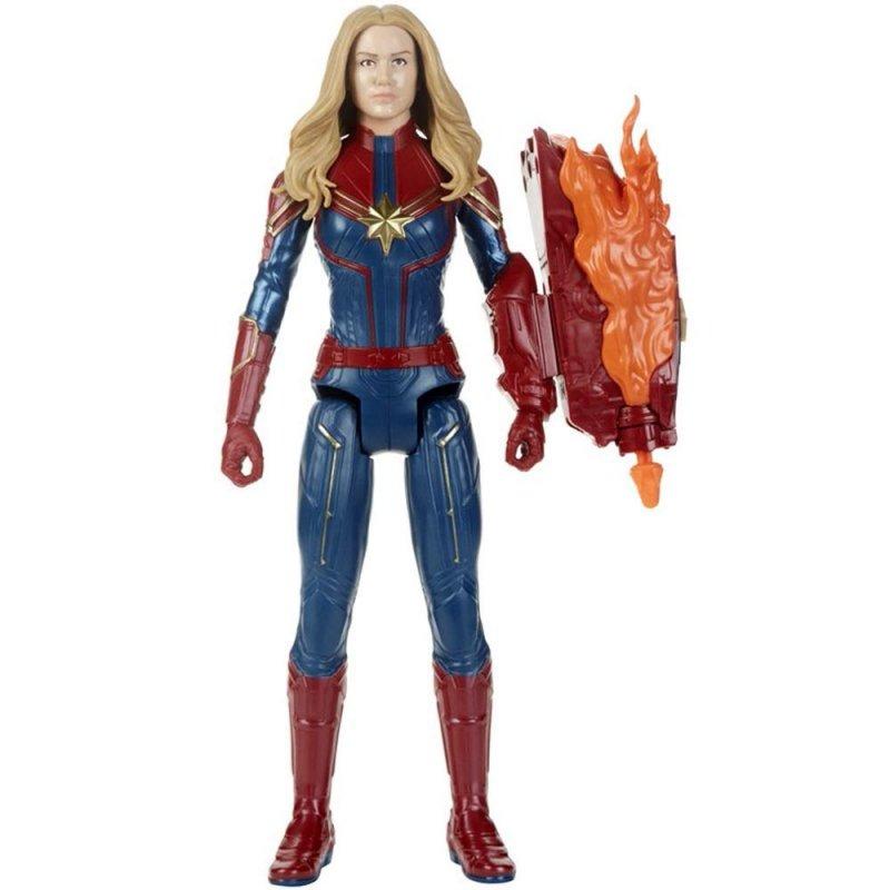 Image of Avengers Captain Marvel Figur - Titan Hero Power Fx 2.0