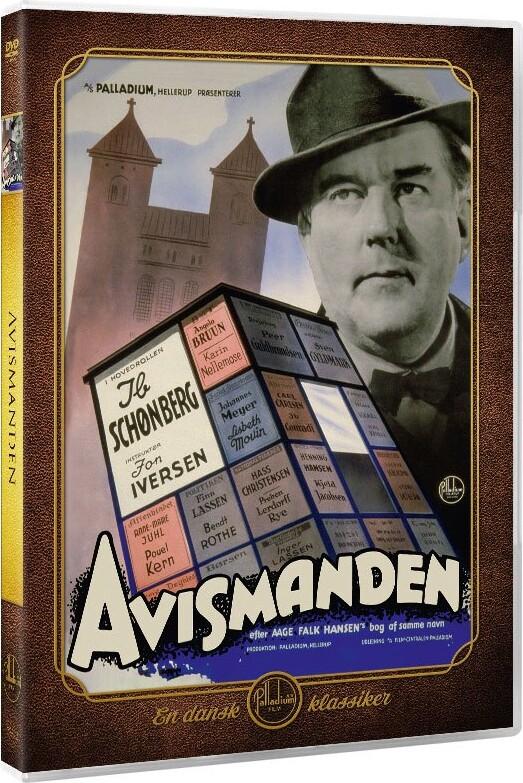 Image of   Avismanden - DVD - Film