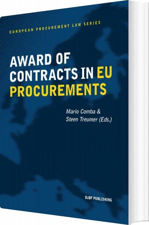 Billede af Award Of Contracts In Eu Procurement - Mario Comba - Bog
