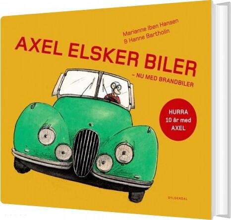 Image of   Axel Elsker Biler - Hanne Bartholin - Bog