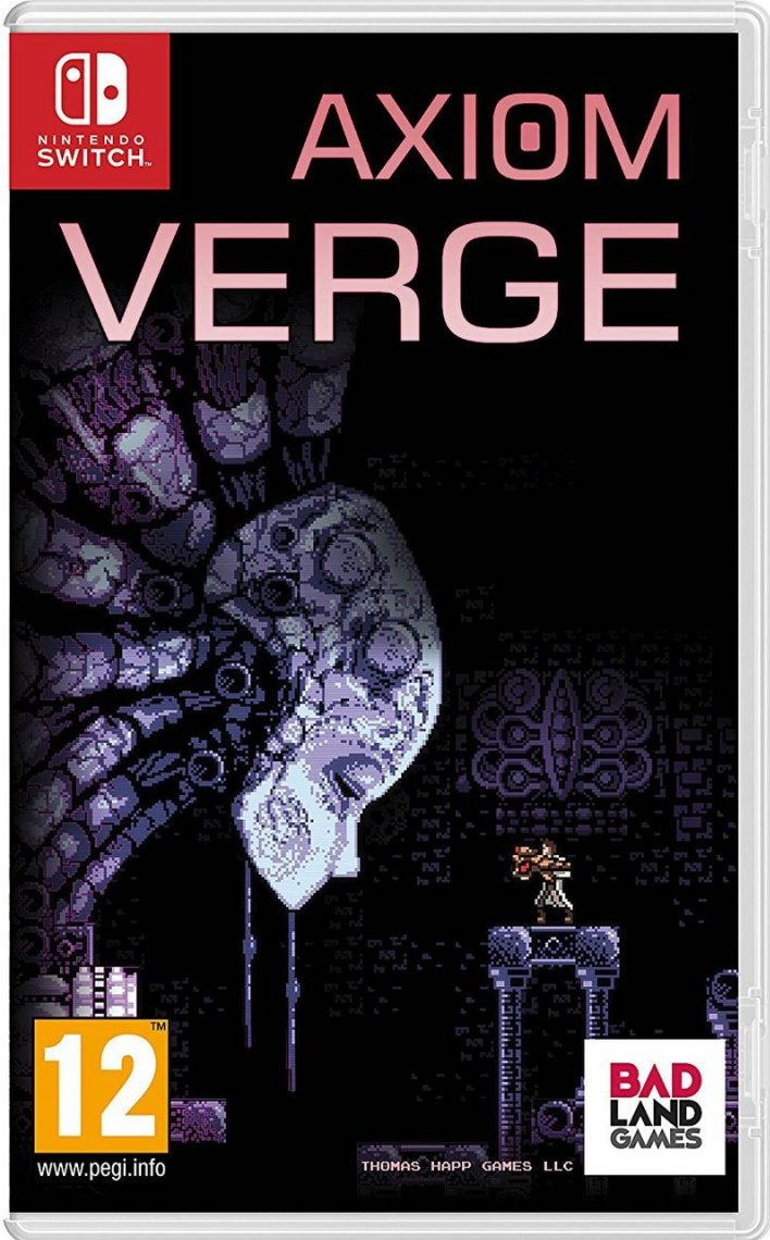 Image of   Axiom Verge - Nintendo Switch