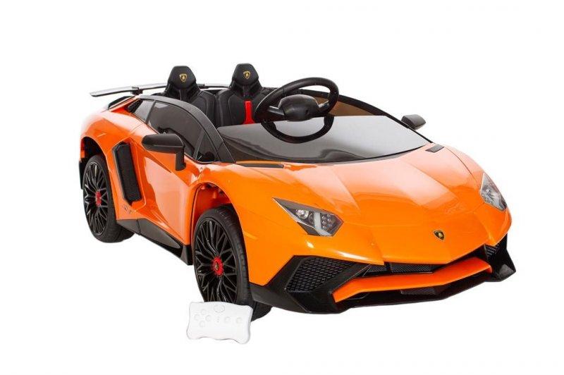 Image of   Azeno - El Bil Til Børn - 12v - Lamborghini Aventador Sv