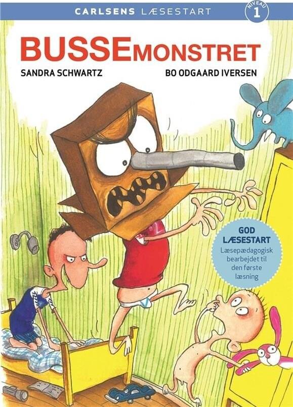 Image of   Carlsens Læsestart: Bussemonstret - Sandra Schwartz - Bog