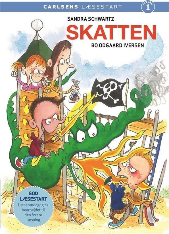 Image of   Carlsens Læsestart: Skatten - Sandra Schwartz - Bog