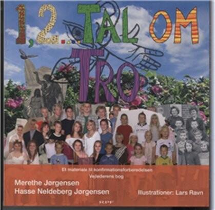 Image of   1, 2... Tal Om Tro - Merethe Jørgensen - Bog