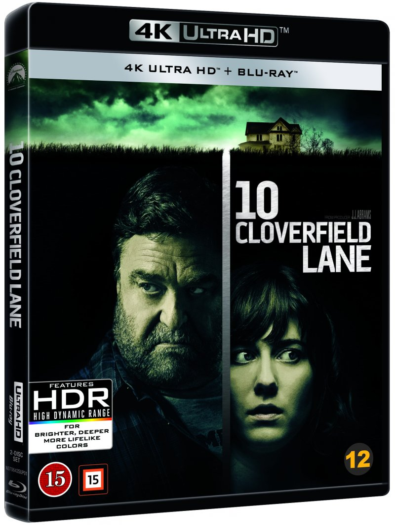 Image of   10 Cloverfield Lane - 4K Blu-Ray
