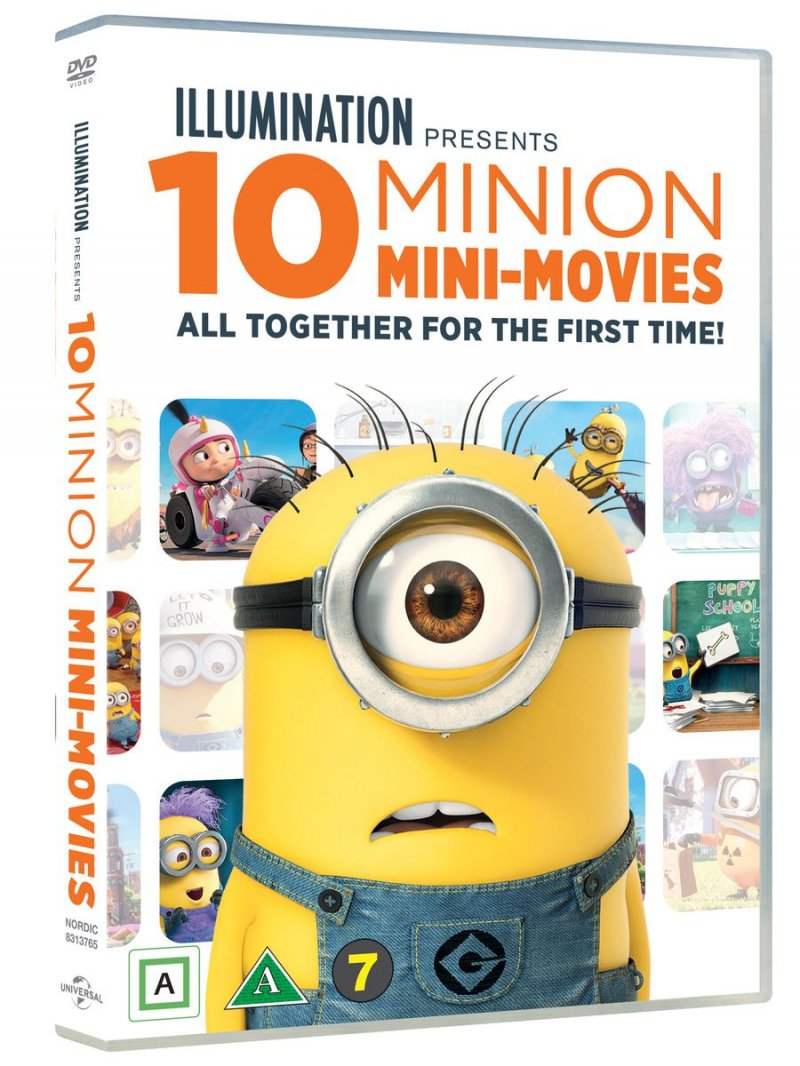 Billede af 10 Minion Mini Movies Collection - DVD - Film