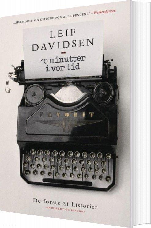 Image of   10 Minutter I Vor Tid - Leif Davidsen - Bog