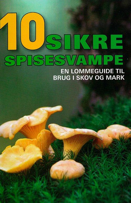 10 Sikre Spisesvampe - Hermod Karlsen - Bog