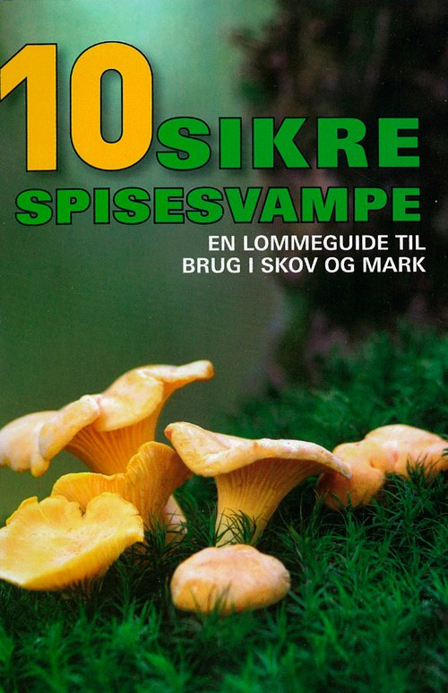 Image of   10 Sikre Spisesvampe - Hermod Karlsen - Bog