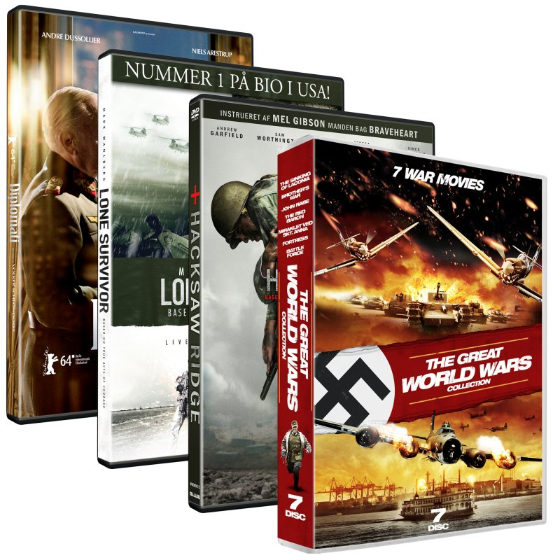 Image of   10 War Movies - Limited Edition - DVD - Film